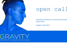 "International Festival for Contemporary Theater and Performance ""Zero gravity"" is calling for theatrical and dance companies and groups"